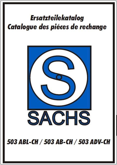 Katalog Starterseite Sachs Motor 503 ABL AB ADV Teile Ersatzteile ...