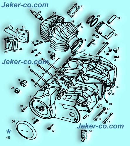 Piaggio moped 12