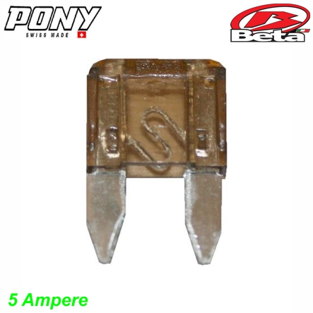 Sicherung 5A 32V Mini Pony Beta Mofa Shop kaufen