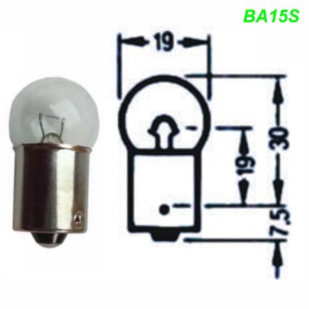 Glühlampe Glühbirne BA15S 6 / 12 Volt 5 / 10 / 15 / 21 Watt Mofa Shop kaufen