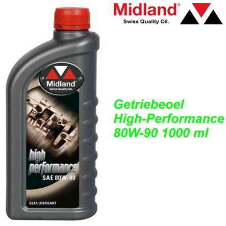 MIDLAND Getriebeoel High-Performance 80W-90 1000 ml