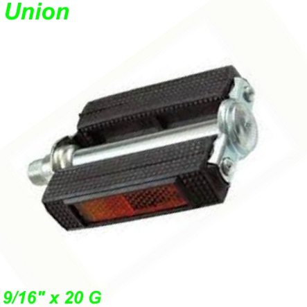 Union Pedalen Mofa m/Reflektoren  9/16 x 20G per Paar Mofa Shop kaufen