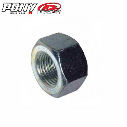 Achsmutter M12 x 1.25 x 10 mm Pony GTX  (original) Mofa Shop kaufen